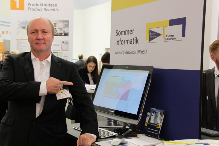 "Sommer Informatik – presents software news at the ""Fensterbau Frontale"" in Nuremberg!"
