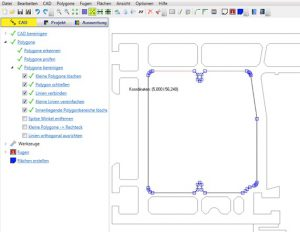 CAD-editor with extensive processing options – WinIso®