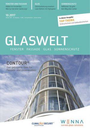 Glaswelt 10/2017 – Professionelle Bauphysiksoftware für Fenster, Fassade und Glas