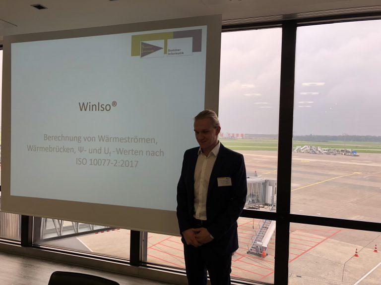 成功的第一個路演活動WinIso®於25.09.2017在漢諾威舉行