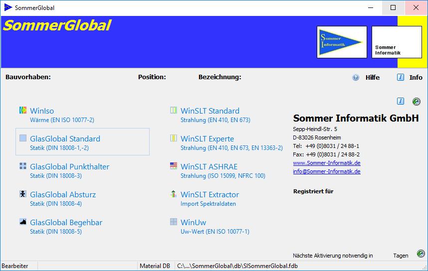 SommerGlobal Starter